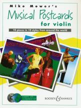 Mower Mike - Musical Postcards + Cd - Violin