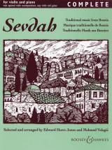 Sevdah - Violin  And Piano, Guitar Ad Lib.