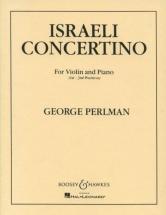 Perlman G. - Israeli Concertino - Violon Et Piano