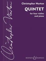 Norton Christopher - Quintet - 4 Violons Et Piano