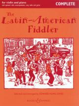 The Latin-american Fiddler - Violin  And Piano, Guitar Ad Lib + Cd