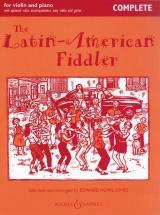 The Latin-american Fiddler - Violin  And Piano, Guitar Ad Lib + Cd