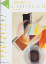 Prokofiev Serge - Visions Fugitives Op.22 Piano