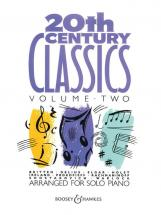 20th Century Piano Classics Vol.2 Piano