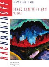 Rachmaninoff Serge - Piano Compositions Vol.3 Morceaux Op.3 / Op.10