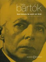 Bartok Bela - Viola Concerto Op. Posth. - Viola And Orchestra