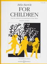 Bartok Bela - For Children Vol.1 (piano)
