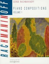 Rachmaninoff Serge - Piano Compositions Vol 1