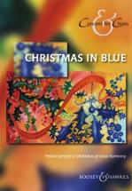 Christmas In Blue - Mixed Choir Solo Or With Instrument