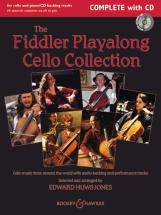 The Fiddler Playalong Cello Collection + Cd - Cello  And Piano, Guitar Ad Lib.