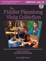 Huws Jones E. - The Fiddler Playalong Viola Collection + Cd - 2 Viola And Piano, Guitar Ad Lib.