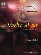 Piazzolla Astor - Vuelvo Al Sur + Cd Clarinette