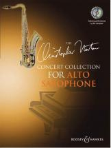Norton Christopher - Concert Collection For Alto Saxophone + Cd - Alto Saxophone And Piano
