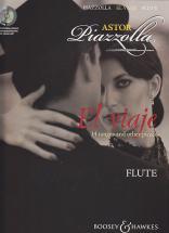 Piazzolla Astor - El Viaje + Cd - Flute, Piano