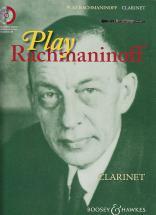 Rachmaninoff Sergei - Play Rachmaninoff + Cd - Clarinette, Piano