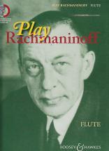Rachmaninoff Sergei - Play Rachmaninoff + Cd - Flute, Piano