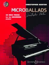 Norton Christopher - Microballads + Cd - Piano