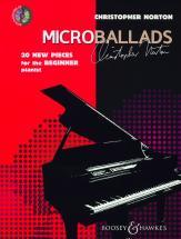 Norton Christopher - Microballads + Cd - Piano