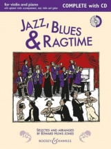 Jazz, Blues and Ragtime - Violin And Guitar + Cd