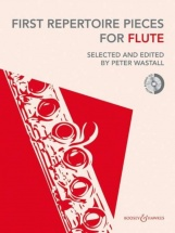 Wastall - First Repertoire For Flute + Cd