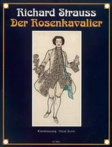 Strauss Richard - Der Rosenkavalier (the Knight Of The Rose) Op.59 - Vocal Score