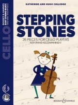 Colledge - Stepping Stones - Violoncelle  and Piano + Audio Online