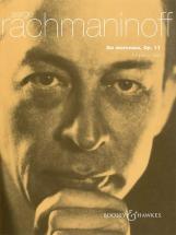 Rachmaninoff Sergei Wassiljewitsch - Six Morceaux Op. 11 - Piano