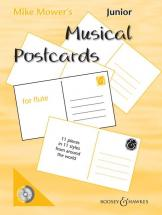 Mower Mike - Junior Musical Postcards + Cd - Flute