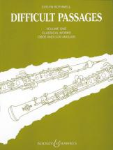 Difficult Passages   Vol. 1 - Oboe