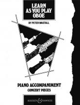 Wastall Peter - Learn As You Play Oboe - Oboe And Piano