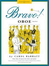 Barratt Carol - Bravo! Oboe - Oboe And Piano
