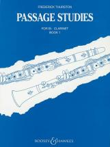 Thurston Frederick J. - Passage Studies Vol. 1 - Clarinet In Bb