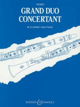 Weber Carl Maria Von - Grand Duo Concertante Op. 48 - Clarinet And Piano