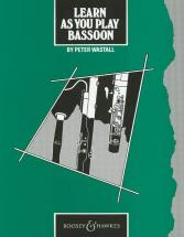 Learn As You Play Bassoon (english Edition) - Bassoon