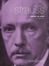Strauss Richard - Andante Op. Posth. - Horn And Piano