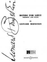 Bernstein Leonard - Rondo For Lifey - Trumpet And Piano