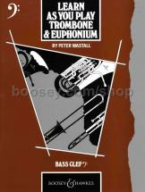 Wastall Peter - Learn As You Play Trombone And Euphonium Cle De Fa