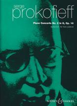 Prokofieff S. - Concerto Pour Piano N° 2 En Sol Op 16 - Reduction Pour Deux Pianos