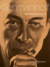Rachmaninoff S. - Piano Concerto No. 4 In G Minor Op. 40 - Piano And Orchestra