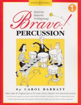 Barratt C. - Bravo Percussion Vol. 1