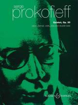 Prokofiev S. - Quintet In Gm Op.39 - Oboe, Clarinet, Violin, Viola And Double-bass