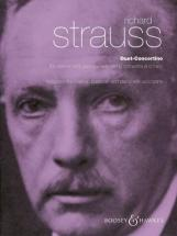 Strauss R. - Duet Concertino - Clarinet, Bassoon With String Orchestra And Harp