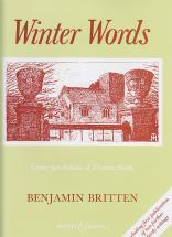 Britten Benjamin - Winter Words