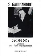Rachmaninov S. - Songs  Vol.1 - Voice And Piano