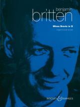 Britten B. - Missa Brevis Op. 63 - Boys