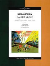 Stravinsky Igor - Ballet Music - Orchestra