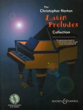 Norton Christopher - Latin Preludes Collection + Cd - Piano