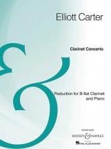 Carter E. - Clarinet Concerto - Clarinette