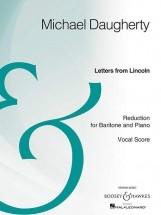 Daugherty M. - Letters From Lincoln - Voix Baryton
