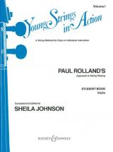 Rolland Paul - Young Strings In Action Vol.1 - Violin